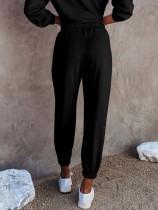 Pantaloni della tuta con coulisse autunnali