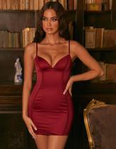 Сексуальное мини-платье с бретельками для вечеринок