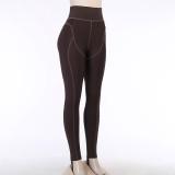 Leggings de cintura alta para fitness esportivo