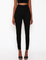 Sport Fitness Leggings mit hoher Taille