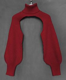 Mantella maglione dolcevita street style