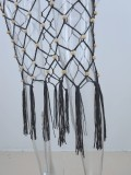 Summer Beach Crochet Borlas Cubrir Faldas