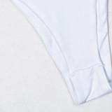 2PC Pailletten Halfter Micro Badebekleidung