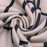 Robe mi-longue portefeuille élégante à manches longues d'automne