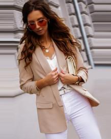 Office Elegant Regular Blazer met lange mouwen