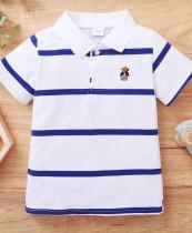 Kinder Boy Summer Stripes Poloshirt