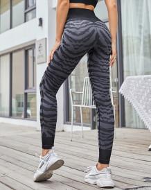 Legging taille haute de yoga de sport imprimé d'été