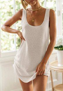 Summer Casual Knit Strings Tank Dress