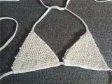 Party Sexy Crystal Halter Bikini Set