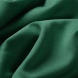 Lentejuelas formales vestido de noche de sirena sin mangas con cuello en V verde