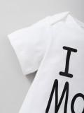 Pagliaccetti estivi con stampa a righe per neonato