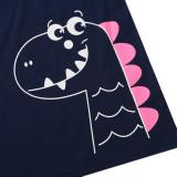 Vestido Camisa Baby Girl Summer Animal Print
