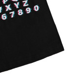 Zomer T-shirt met letterprint voor babyjongens