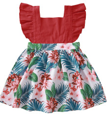Baby Girl Summer Floral Skater Dress