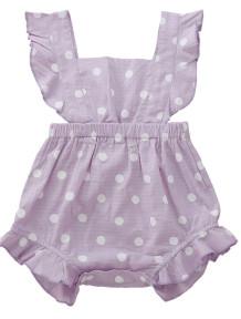 Baby Girl Sommer Polka Print Strampler