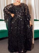 Dubai Arap Orta Doğu Müslüman Kaftan İslami Abaya Elbise