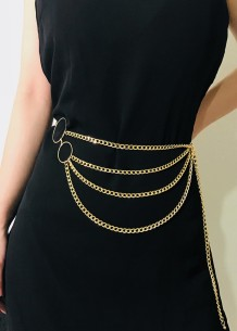 Fashion Goden Chains Belt