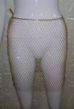 Couvre-jupe taille haute à perles en résille Summer Beach