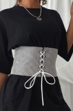 Cintura in vita con lacci alla moda