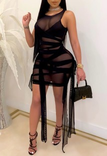 Summer Party Sexy Transparent Strings Bodycon Dress
