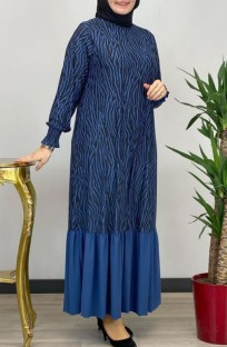 Plus Size Dubai Arab Middle East Muslim Kaftan Islamic Abaya Maxi Dress
