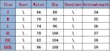 Calções de corrida de cintura alta estampados de verão