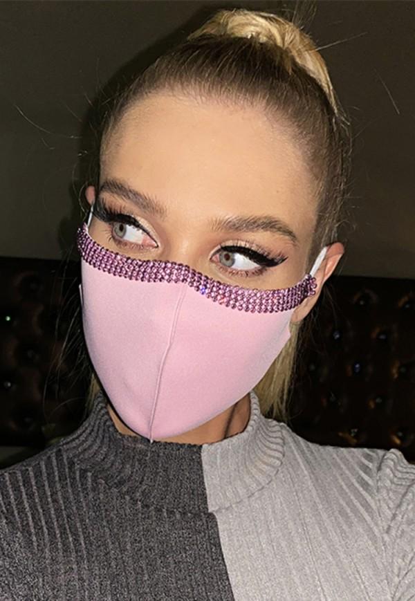 Cubierta de la cara de la oreja moldeada de la moda de las mujeres (Juego de 2 piezas)