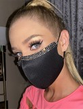 Frauen Mode Perlen Earloop Face Cover (2 Stück Set)