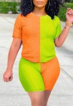 Комплект из 2 предметов Summer Block Color Повседневная рубашка и шорты