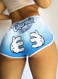 Pantalones cortos deportivos con estampado deportivo de verano