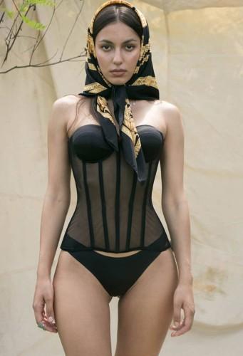 Sous-vêtements bustier sexy sans bretelles d'été