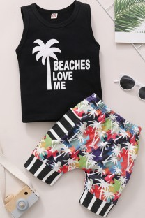 Set corto 2 pezzi Baby Boy Summer Print