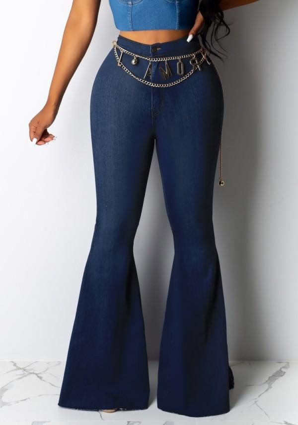 Sommerrosa High Waist Flare Jeans