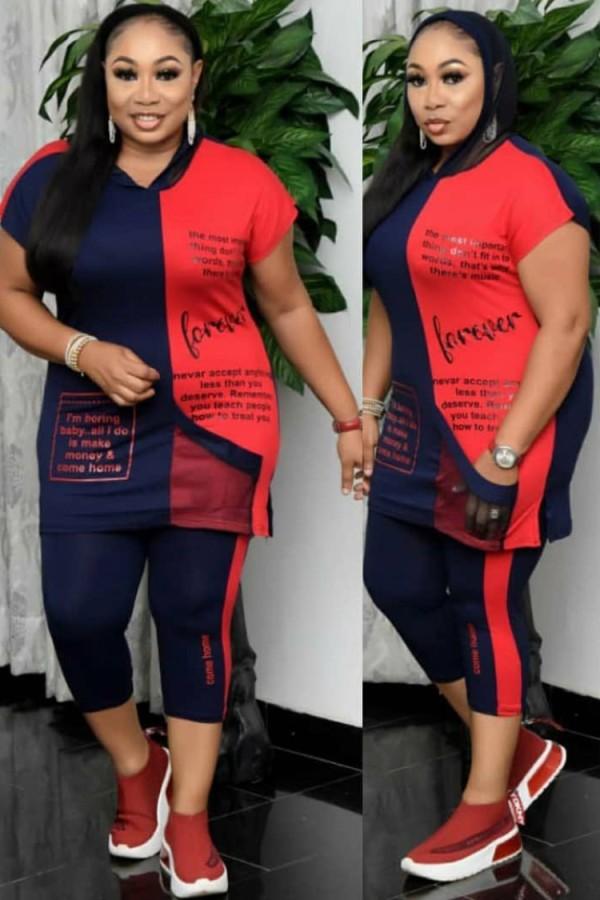 Ensemble chemise et pantalon d'été décontractés à imprimé africain