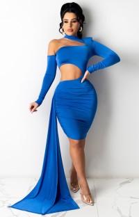 Летнее твердое сексуальное облегающее платье на одно плечо с открытыми плечами