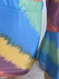Сексуальный укороченный топ с завязками и летним принтом, сексуальный укороченный топ и мини-юбка