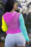 Giacca con cappuccio protezione solare Summer Block Color