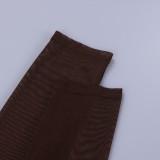 Blusa curta transparente verão chocolate sexy com mangas compridas