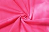 Tuta con scollo all'americana rosa yoga tie dye per sport estivi