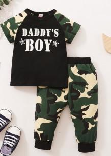 Set di pantaloni 2 pezzi Baby Boy Summer Camou