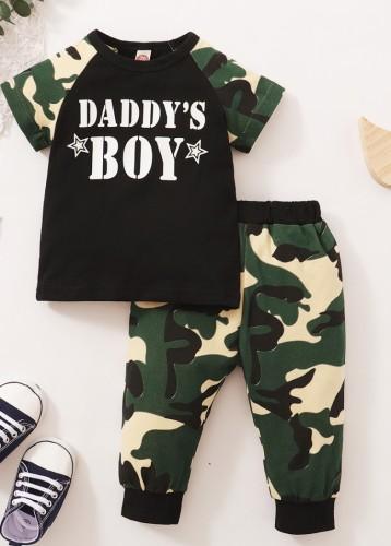 Ensemble de pantalon 2 pièces Summer Camou pour bébé garçon