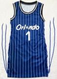 Summer Sports Stripes Blue Sides Vestido corto sin mangas con cordones