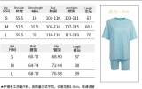Sommer Casual Lila Print Hemd und Biker Shorts 2er Set