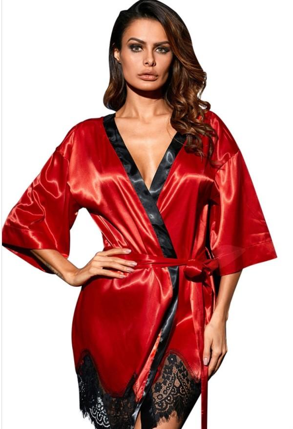Summer Red Sexy camisón y conjunto de lencería panty