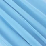 Sommer-Vintage-Bleistift-Bürokleid in Blau mit kurzen Ärmeln