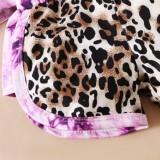 Baby Mädchen Sommer Tie Dye Print 2-teiliges Shorts Set