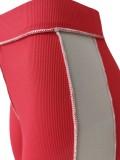 Summer Color Block Sexy Crop Top con cordones y pantalones Conjunto a juego de 2 piezas