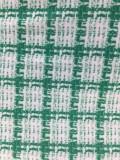 Lente Casual geruite crop top met lange mouwen en minirok met rits