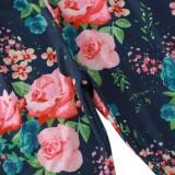 Conjunto de camisa y pantalón con estampado de dos piezas de verano para niñas y niños