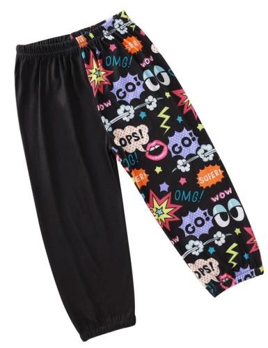 Pantaloni estivi con stampa per bambini e ragazzi